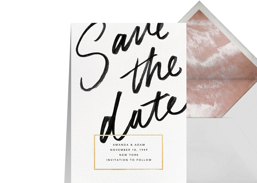 Online invitations cards and flyers paperless post wedding save the dates stopboris Gallery