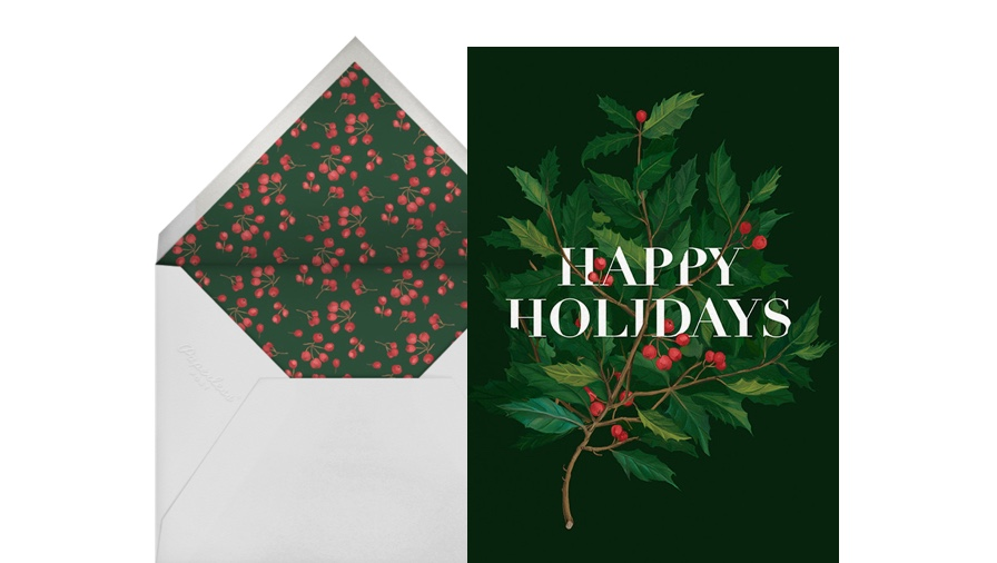 Holiday Cards Online >> Christmas Cards Online At Paperless Post